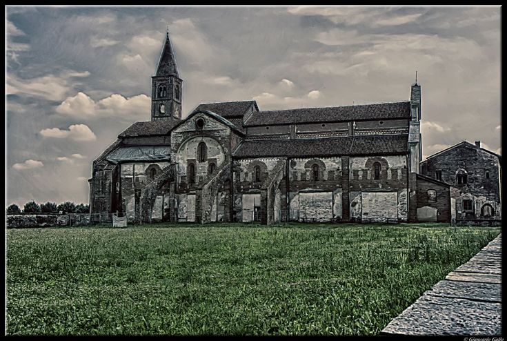 Ancient Abbey by Giancarlo Gallo