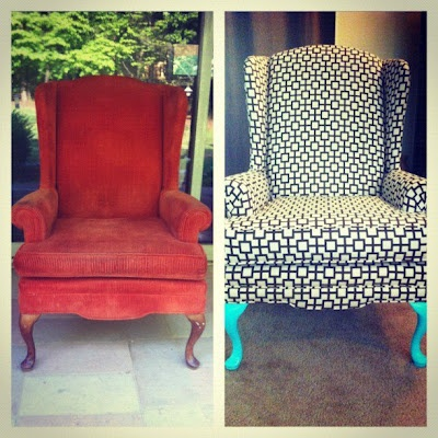 Just got a $5 chair just like this at a yard sale. Definitely going to use these tips!