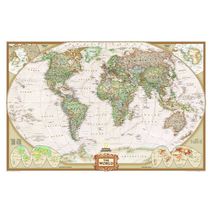 62 best maps images on pinterest maps cartography and cards world executive map antique tones two sizes and spanish available map type enlarged tubed x national geographic maps sciox Gallery