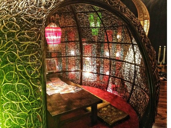 Foodie Travel Tip - Anzuya Restaurant in Okinawa, Japan - Really quirky seating areas (photos on the site). - They offer sushi, pizza, pastas, onigiri, gyozas, salads, cheeses, meat dishes, and rice.