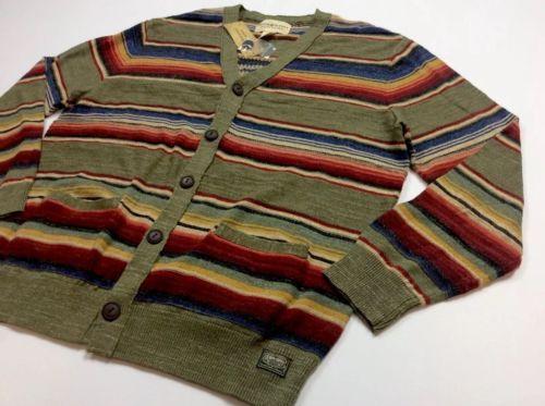 Denim-amp-Supply-Ralph-Lauren-Men-Southwestern-Indian-Aztec-Knit-Sweater-Cardigan