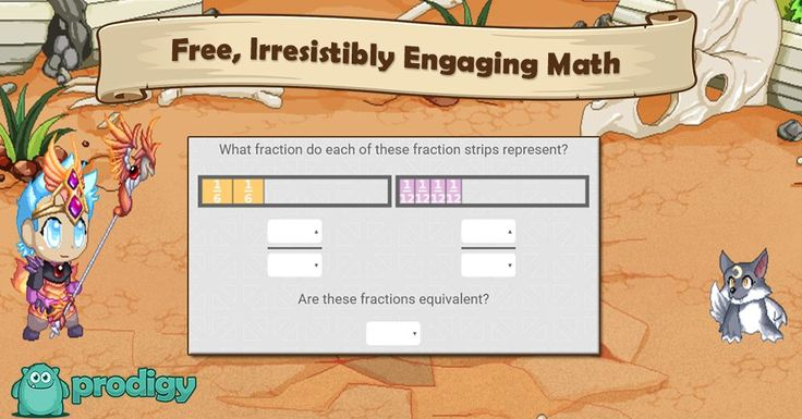 My 4th graders LOVE this website! I'm using Prodigy to skyrocket my students' engagement with math! It's also wonderful for differentiating.