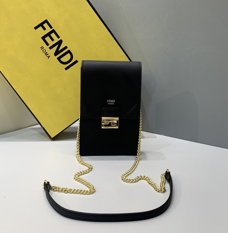 fendi card holder with chain