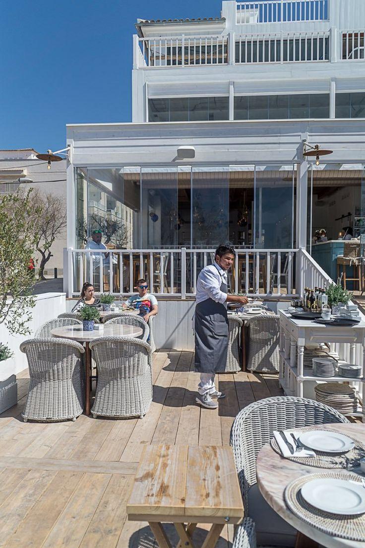 Cassai Beach House in Colònia de Sant Jordi auf Mallorca - Restaurant Hotspot mit Meerblick