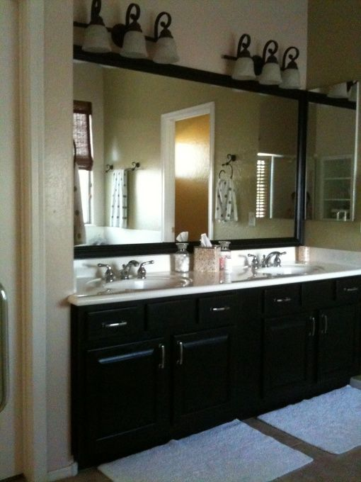 Big Vanity Mirror With Lights Gorgeous 8 Best Mirror Border Images On Pinterest  Bathroom Ideas Bathrooms Inspiration Design