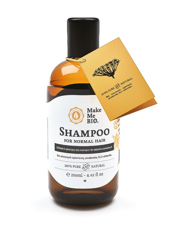 Naturalny szampon z czarnej porzeczki i brzozy. Dla pięknych, mocnych i zdrowych włosów! Make Me Bio.
