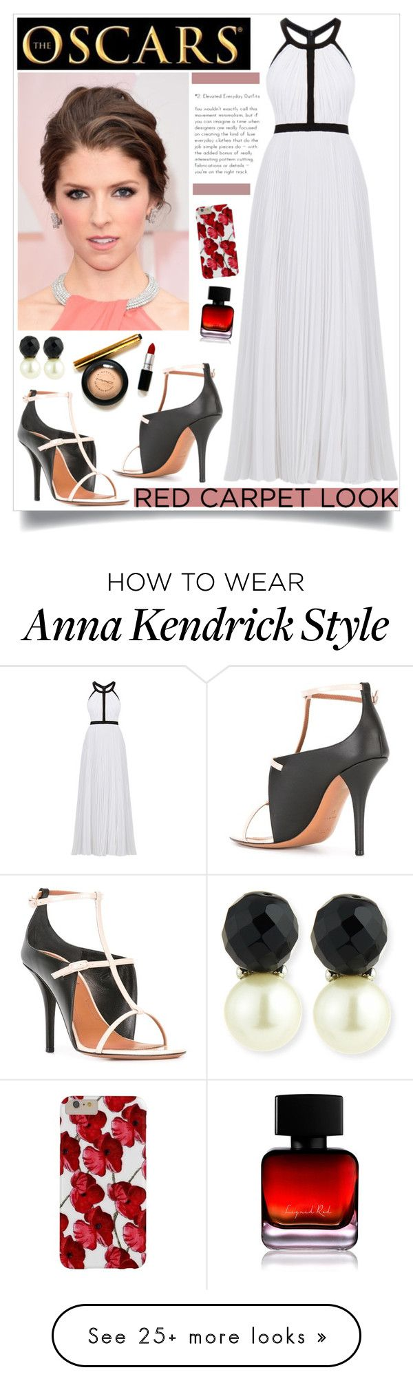 """""""Anna Kendrick."""" by iamrendrawati on Polyvore featuring Nicole Miller, Givenchy, Kenneth Jay Lane and The Collection by Phuong Dang"""