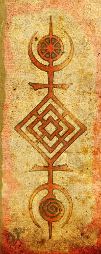 ADF Druid symbol, Tree of Life by Tom Butler