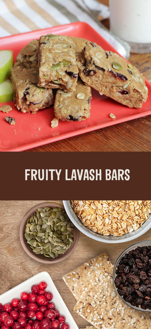 Try this fun kid-friendly recipe with your little ones this weekend! 🍏 Our yummy Fruity Lavash Bars are perfect for when you're craving a little something sweet.
