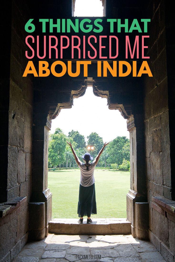 A country full of surprises. Here are some surprises you may discover on your first visit to India.