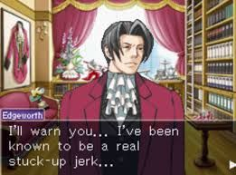ace attorney miles edgeworth - Google Search