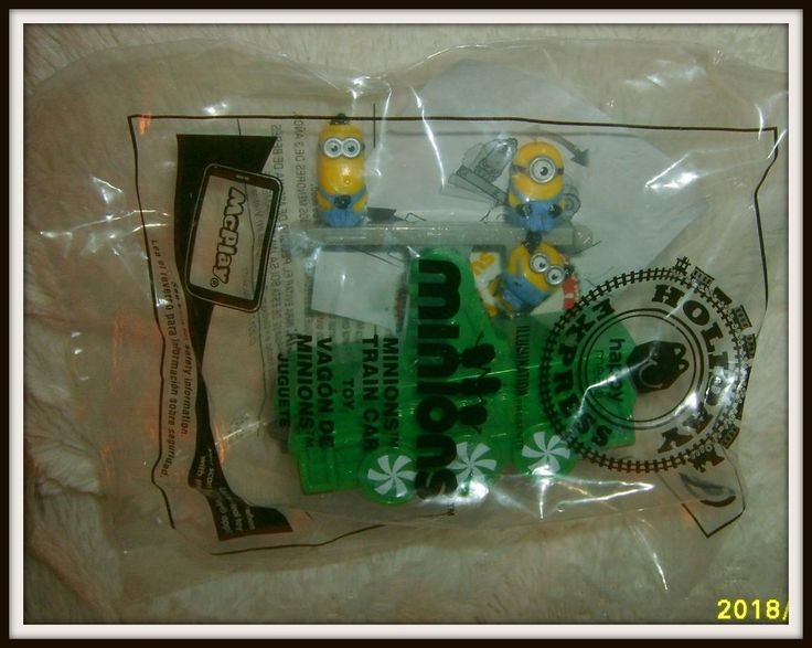 Minions Train Car Toy, McDonalds Happy Meal Toy #9 #McDonalds
