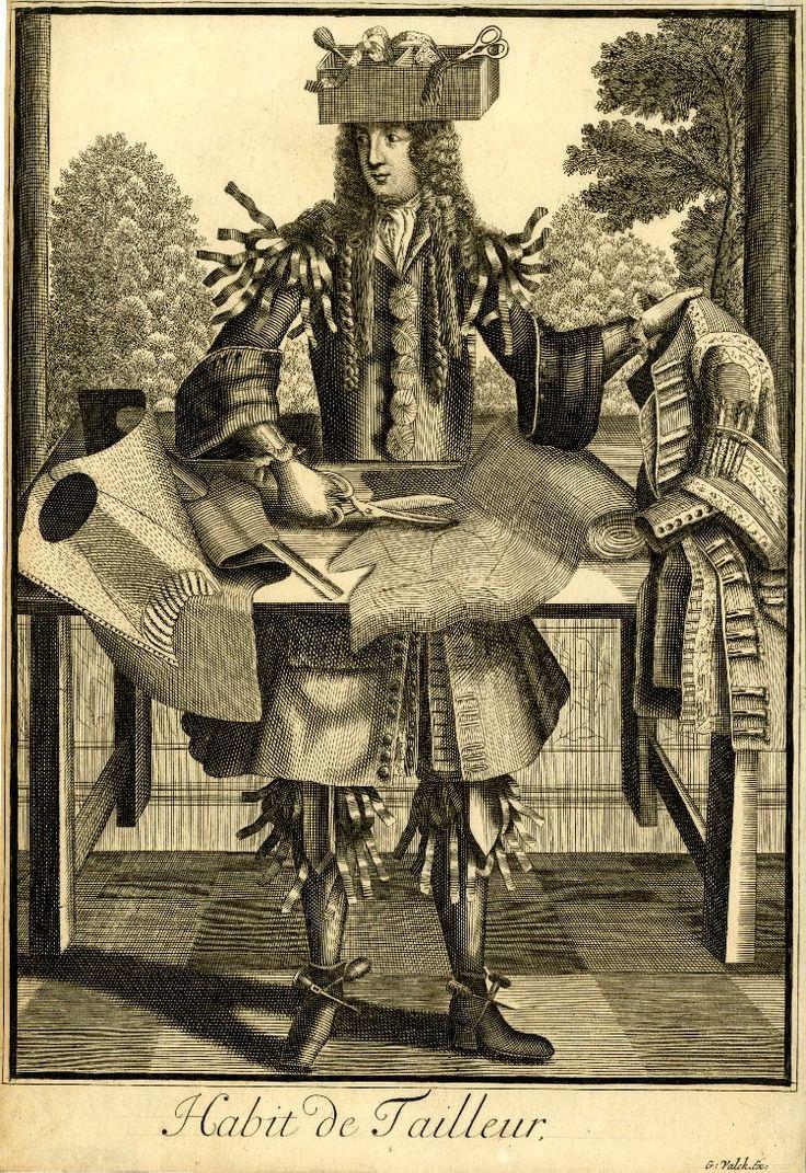 Nicolas de Larmessin III.Grotesknye costumes. Part 2 - Interesting and forgotten - life and curiosities of past eras.