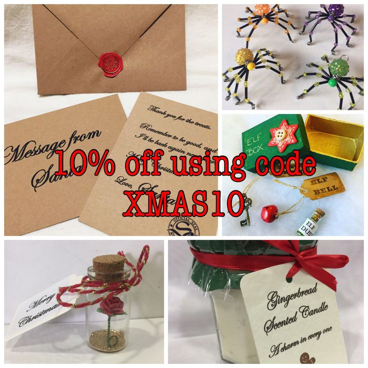 10% discount on all items using code XMAS10