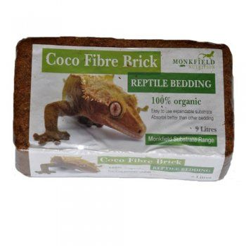 Monkfield Coco Fibre Brick - 650g - http://www.kjreptilesupplies.co.uk/monkfield-coco-fibre-brick-650g-p176