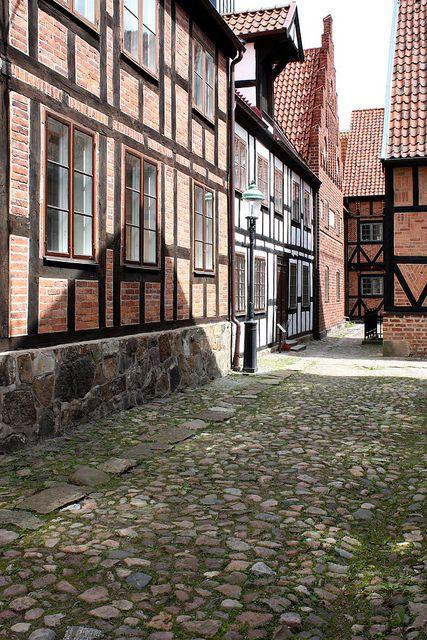 Cobblestone Street - Lund, Sweden