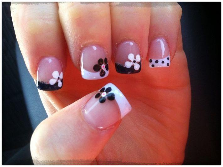 Resultado de imagen para uñas pintadas con diseños juveniles paso a paso