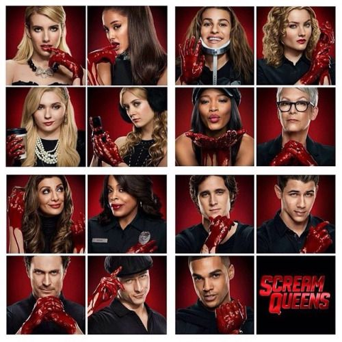 Scream Queens:  Why? Because it's funny, even when you don't think you should laugh.. dark comedy with clever writing. Pretty mean, but somehow redeeming.