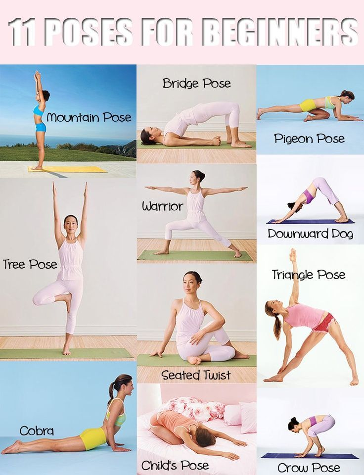 nice Yoga Poses for Beginners