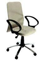 Cadeira cromada para escritório bege tela Suede Presidente: http://hcompras.com/cadeira-para-escritorio-tela-suede-cromada-mod-presidente-em-promocao/