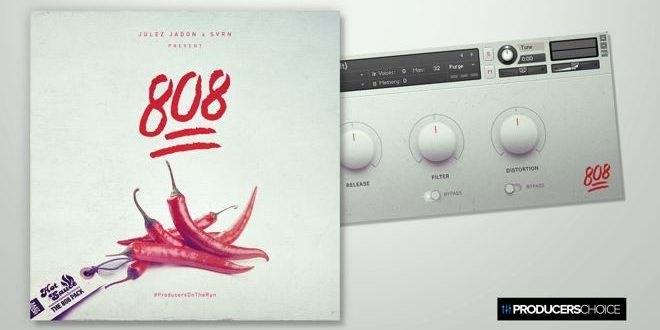 HOT Sauce: 808 Kontakt Library by The Producers Choice
