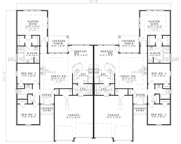 17 Best Images About Duplex Floor Plans On Pinterest