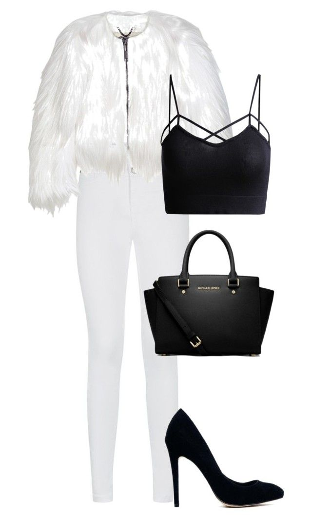 """""""BIRTHDAY DINNER OUTFIT #2"""" by pinkkdiamonds on Polyvore featuring Burberry, MICHAEL Michael Kors and ASOS"""
