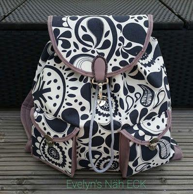 die besten 17 ideen zu rucksack n hen auf pinterest rucksack rucksack handtasche und rucksack. Black Bedroom Furniture Sets. Home Design Ideas