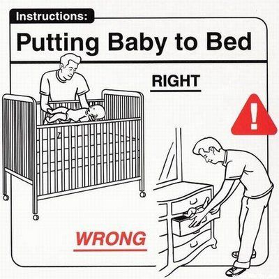 Don't turn your drawer into a crib.
