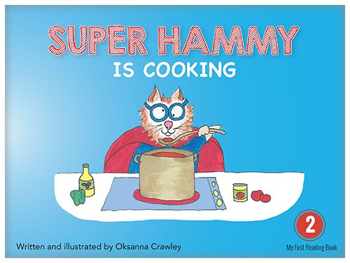 Look at Super Hammy, he is an amazing cook! Super Hammy cooks spaghetti!