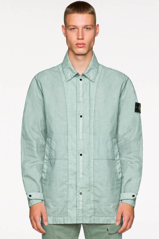 59ac87f84236 Stone Island Spring Summer 2019 Collection Preview Lookbook Teaser Jacket  Outerwear Coat Functional Icon Imagery Carlo