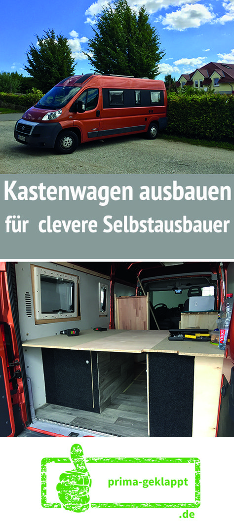die besten 25 kastenwagen in wohnmobil umbau ideen auf. Black Bedroom Furniture Sets. Home Design Ideas