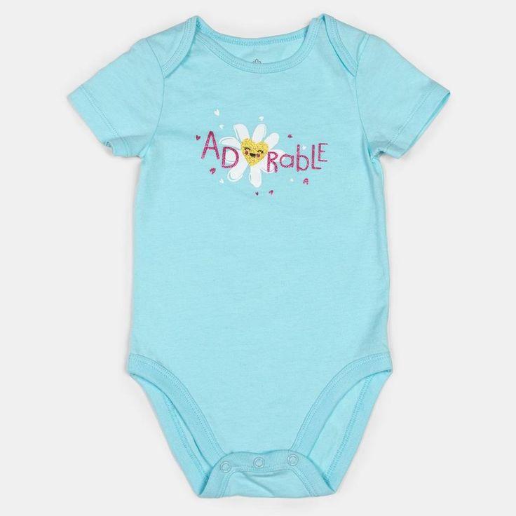 Infant Girls' Short Sleeve Bodysuit for $4.97