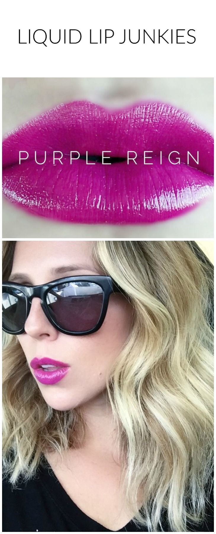Purple Reign LipSense Video Application