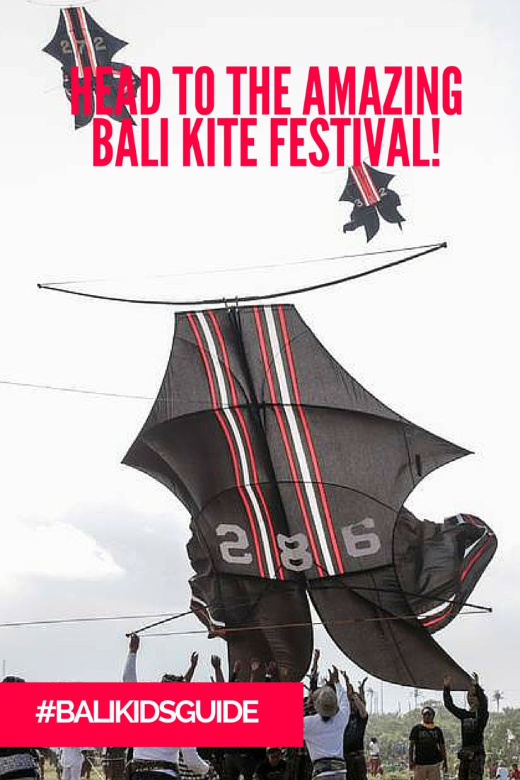 Head down to the Bali Kite Festival, and marvel at the creativity and color! Your kids will love it.
