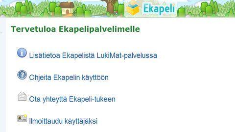 Ekapeli on Jyväskylän yliopistossa kehitetty tietokonepeli, jonka avulla jo yli 100 000 lasta on saanut tukea lukemaan oppimiseen. Pelin motivoivuutta tutkittiin nyt ensimmäistä kertaa.