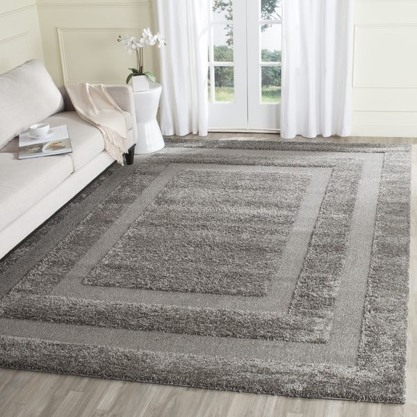 Safavieh Ultimate Dark Grey Shag Rug 8 X 10