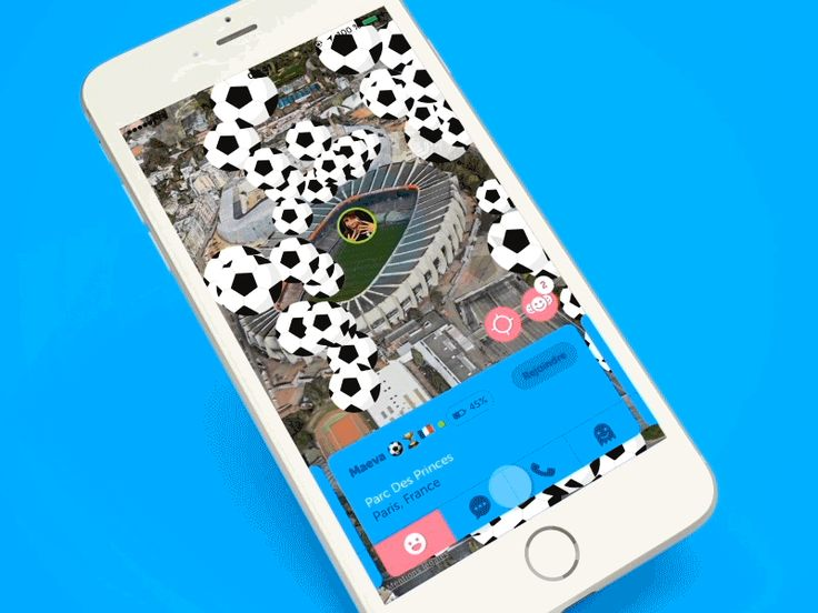 Zenly - Send and receive emojis by Christophe Kerebel - Dribbble