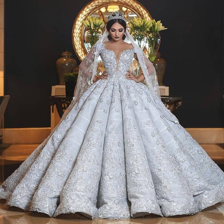 Jeanne Love Royal Sweetheart A Line Wedding Dresses 2019: Image May Contain: 1 Person, Wedding