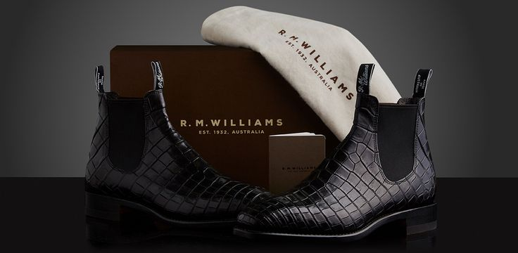 Bespoke Footwear - Handcrafted from R.M.Williams