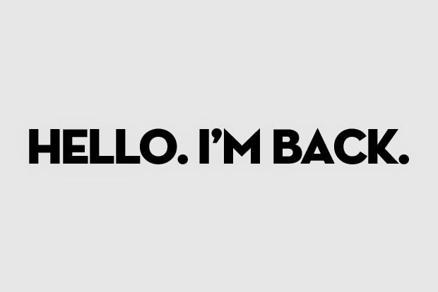 The Holiday Is Over I M Back And It S Time For 2020 Blogging Lbb Im Back Quotes Funny Images With Quotes Words Quotes