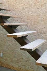 Resultado de imagem para interior single tread metal stairs