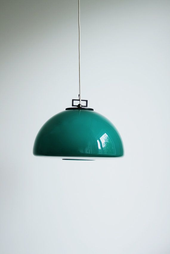 #teal #turquoise ceiling #light #lamp
