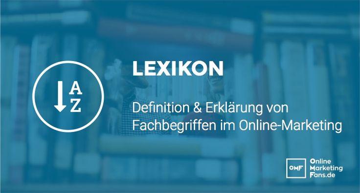 Marketing Lexikon - Deutsch