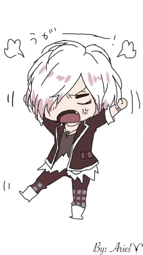 Angry Chibi Subaru {Drawing}   Anime Amino   ⭐A r t