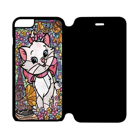promo code 597a5 2390b Marie Cat Disney's The AristoCats Stained Glass iPhone 6 Flip Case ...