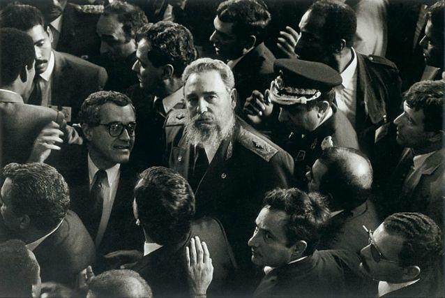 Fidel Castro, por Vasco Szinetar (Fundación Fotografía Urbana)
