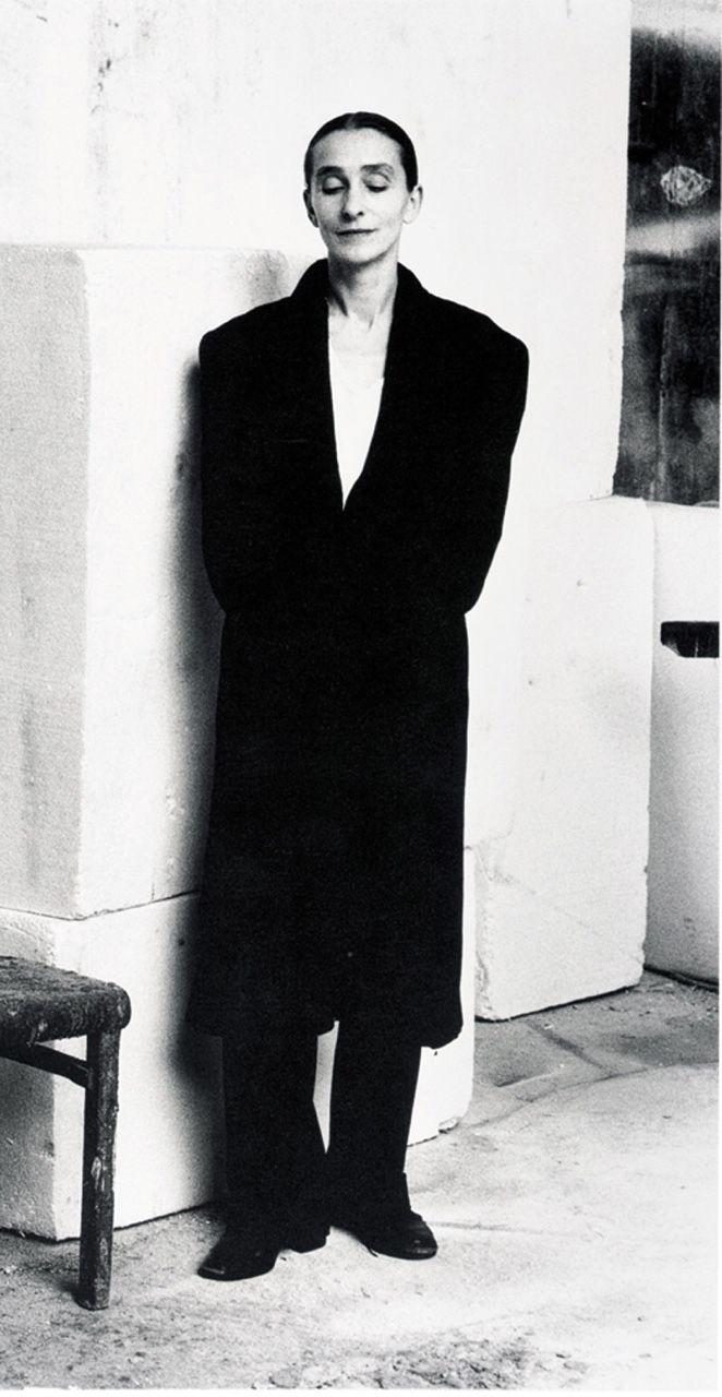 Helmut Newton, Pina Bausch, 1983