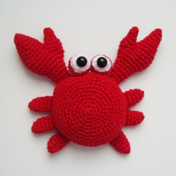 PDF PATTERN crochet flat amigurumi little toys by kseniadesign, $4.75