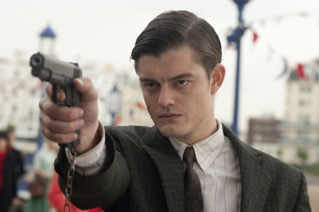 "Sam Riley in ""Brighton Rock""."